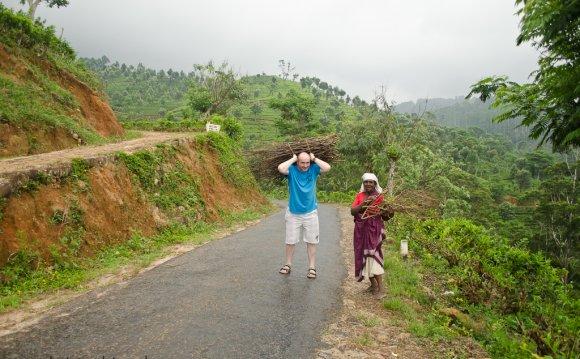 карте дорог Шри-Ланки