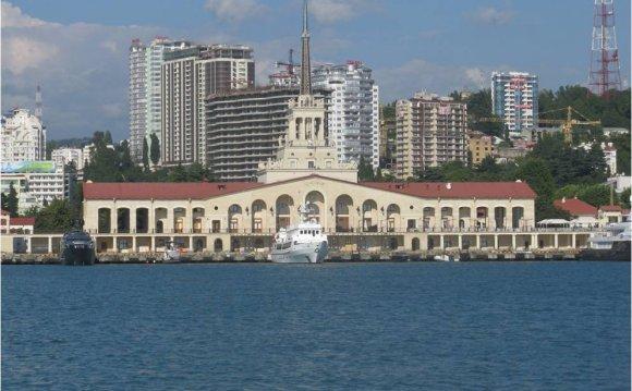 Морской вокзал – одна из