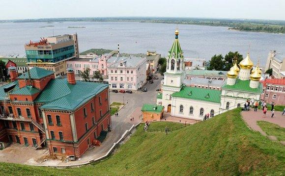 Нижний Новгород — отдых