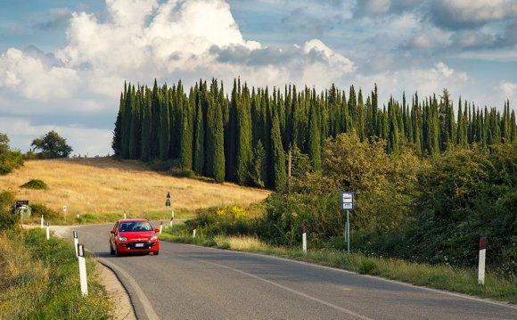 По северной Италии на машине