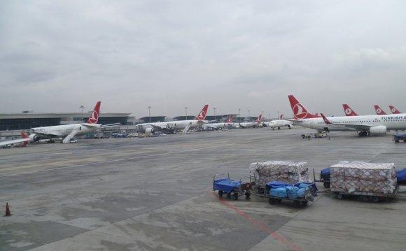 Аэропорт Стамбула (Istanbul