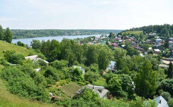 Плёс в Ивановской области